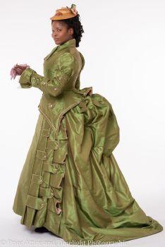 Victorian promenade dress  size 14