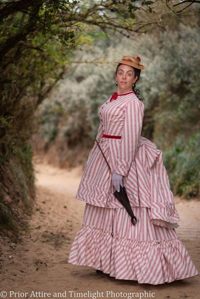 Victorian seaside dress  size 12