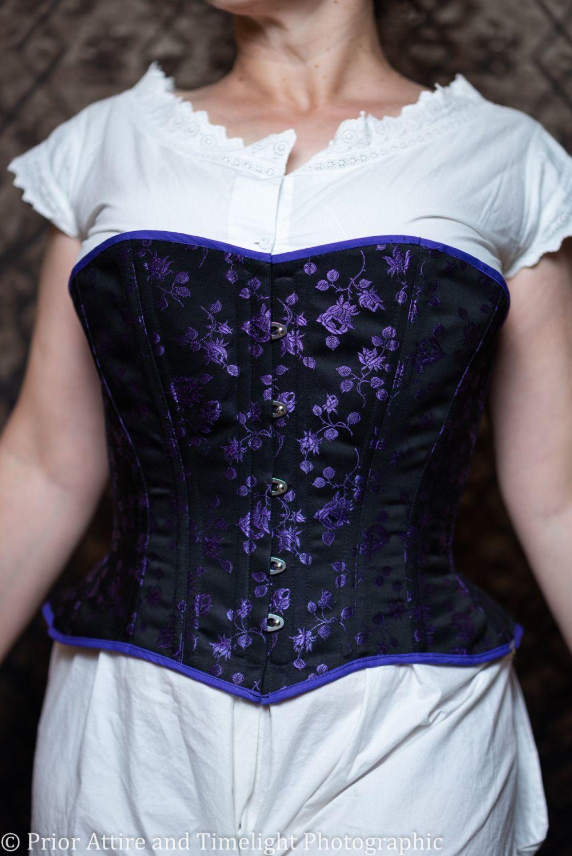 victorian/modern riding corset  size 14