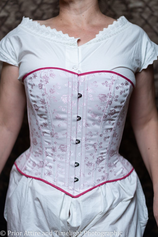 victorian/modern riding corset  size 12