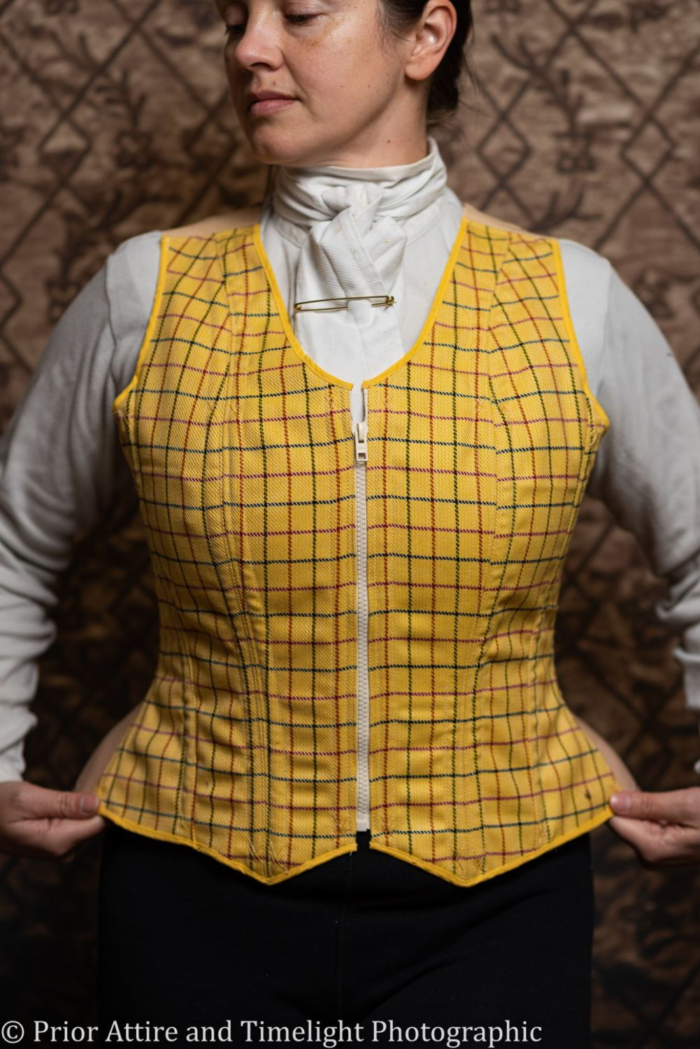 Equestrian corseted waistcoat size 18