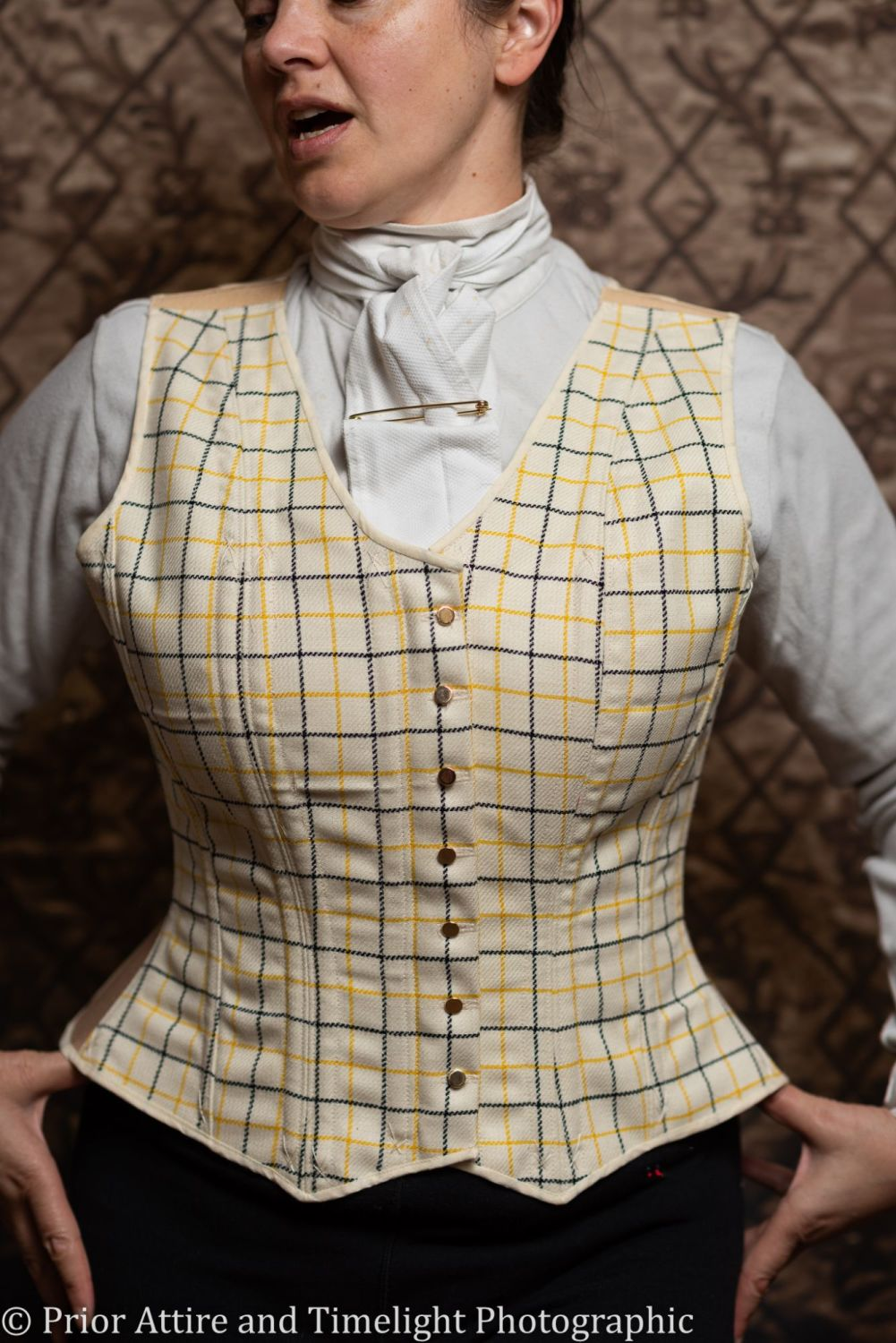 Equestrian corseted waistcoat size 16-18