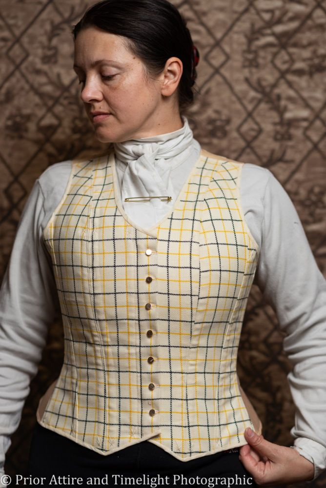 Equestrian corseted waistcoat size 16