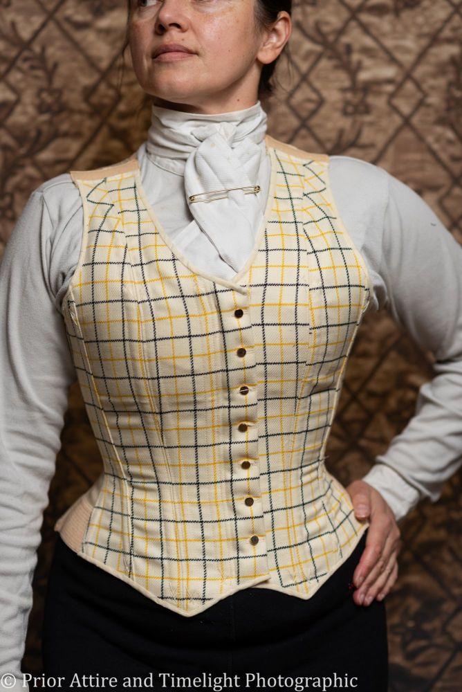 Equestrian corseted waistcoat size 12-14