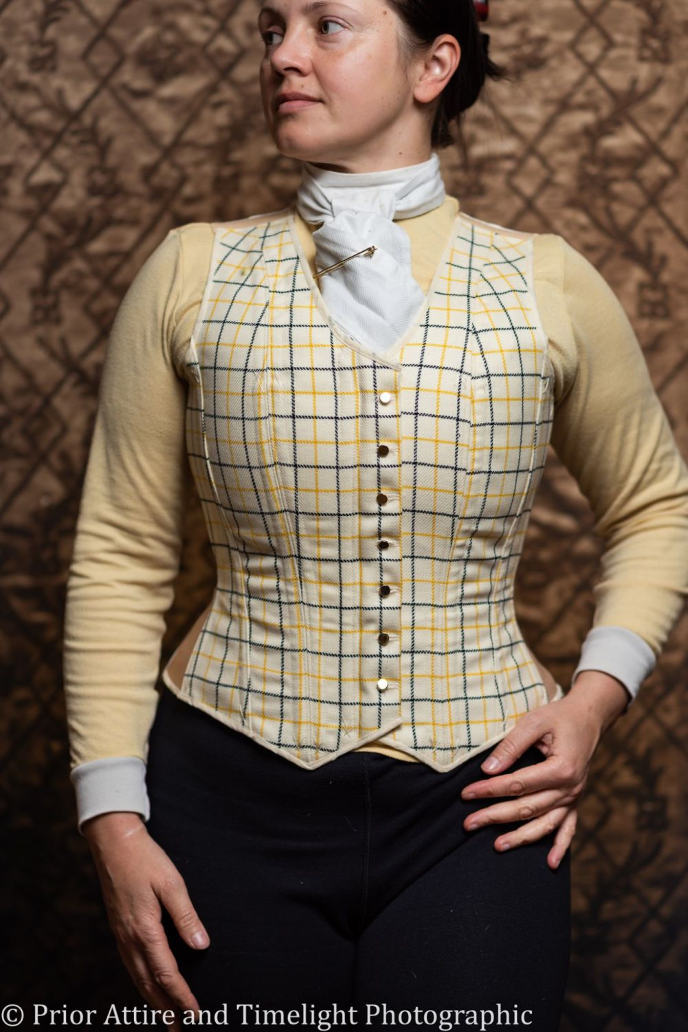 Equestrian corseted waistcoat size 12