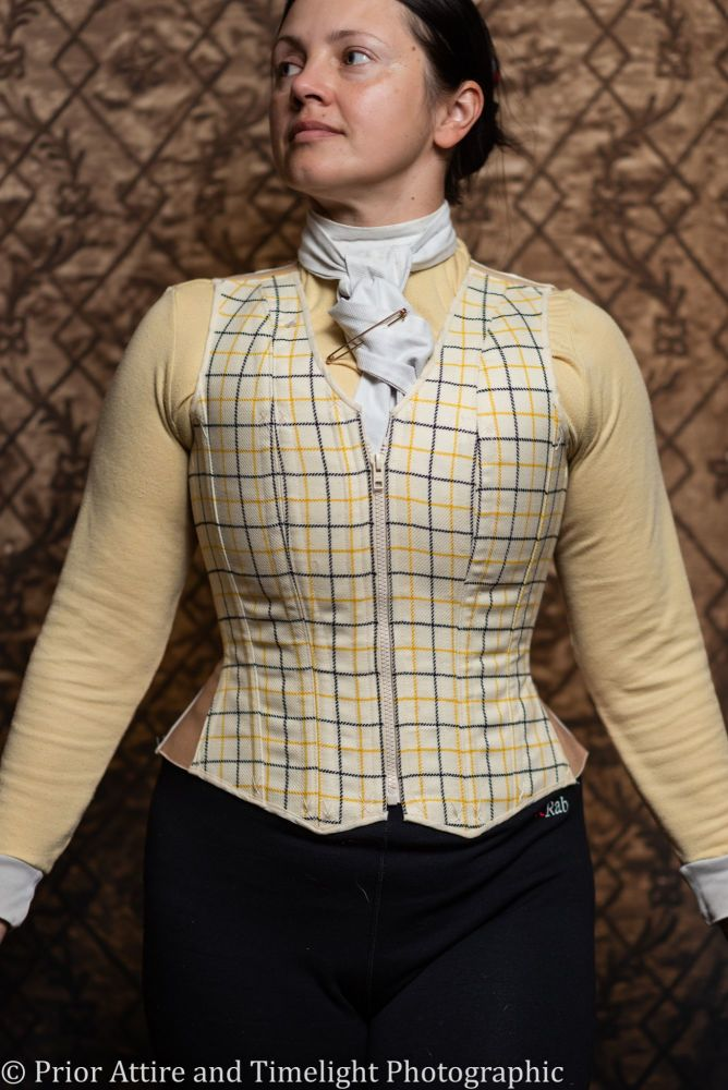 Equestrian corseted waistcoat size 10