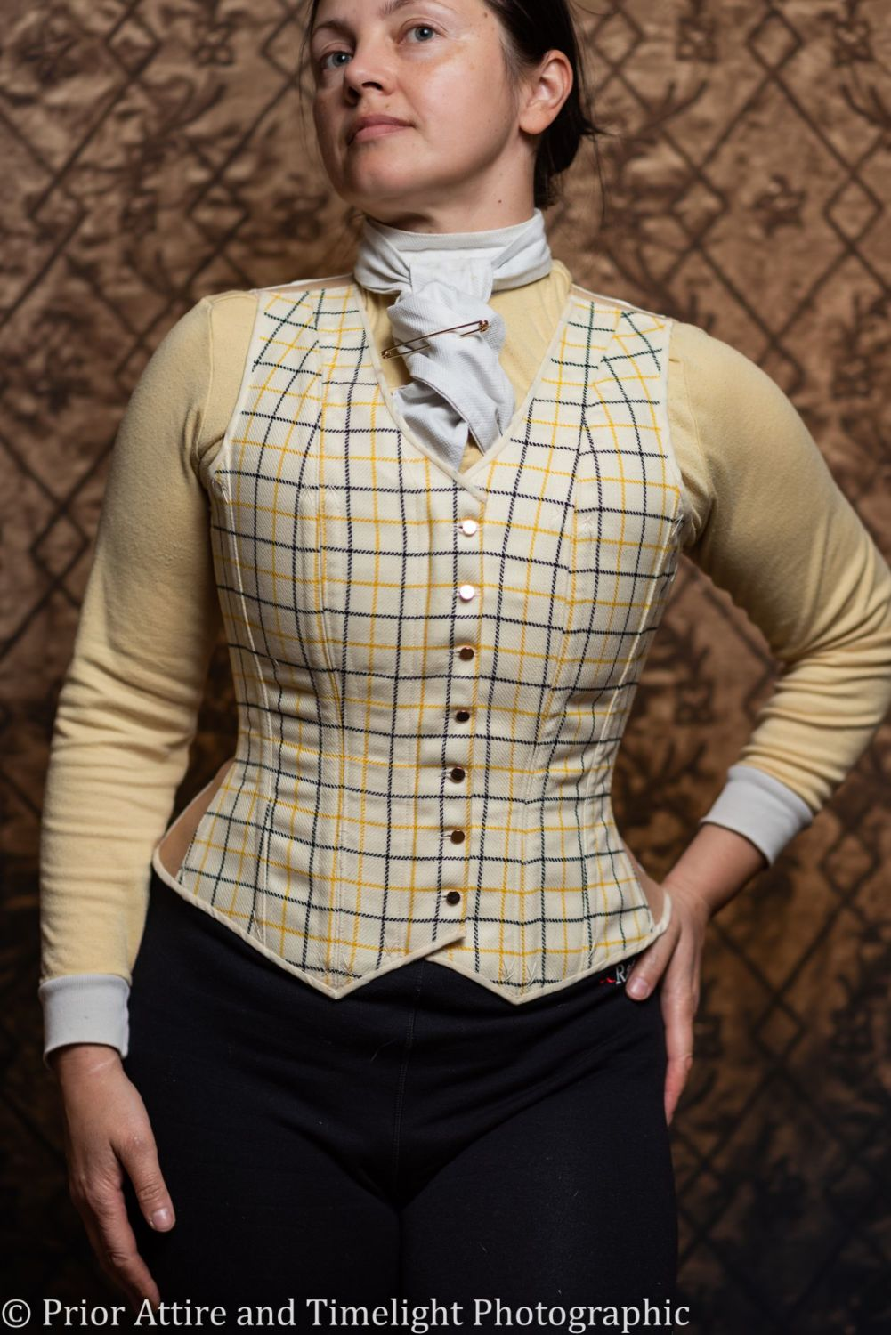 Equestrian corseted waistcoat size 10-12