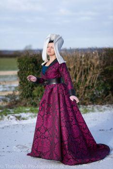 Medieval dress, Burgundian, 15th Century
