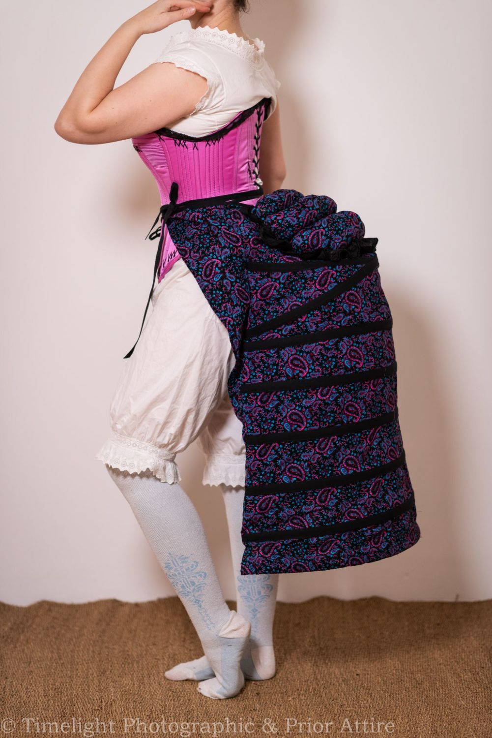 Bustle Cage  and pad in  cotton