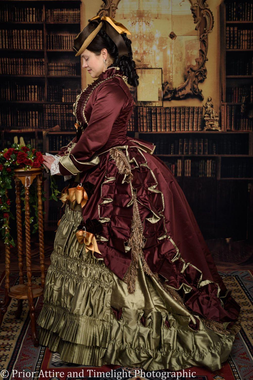 Victorian  day  dress - replica Pingat