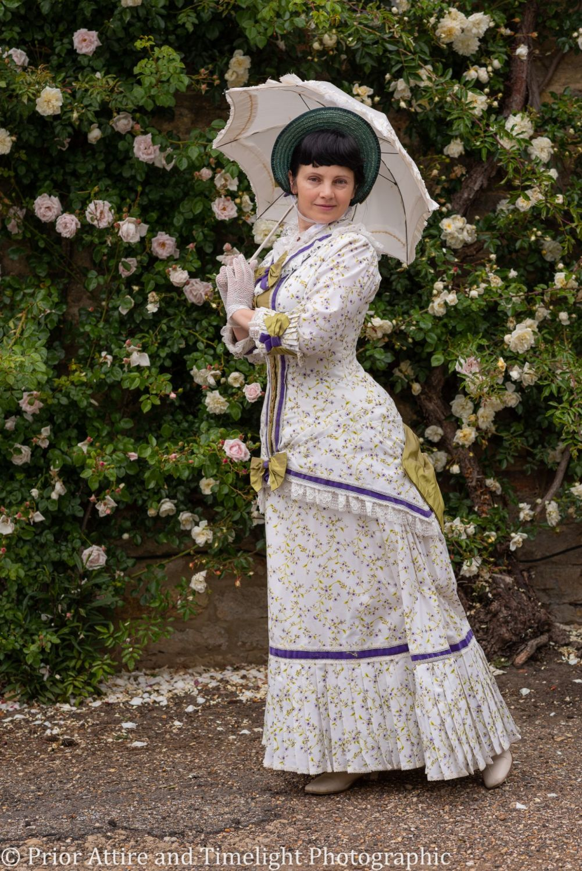 Victorian, Natural Form day  summer dress