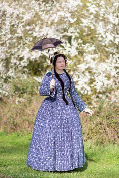 Victorian 1840s  dress