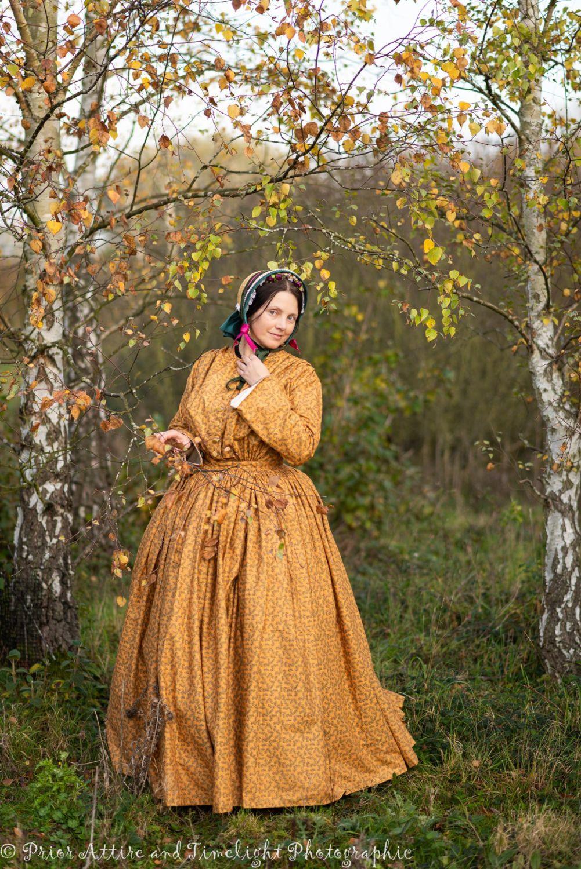 Victorian 1850s  dress