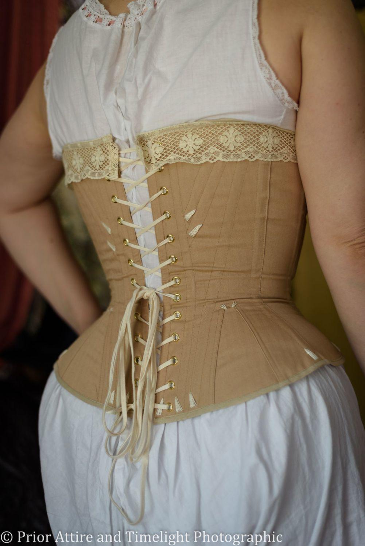 Victorian riding corset
