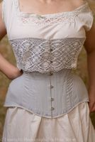 Late Victorian, early Edwardian corset  24.5