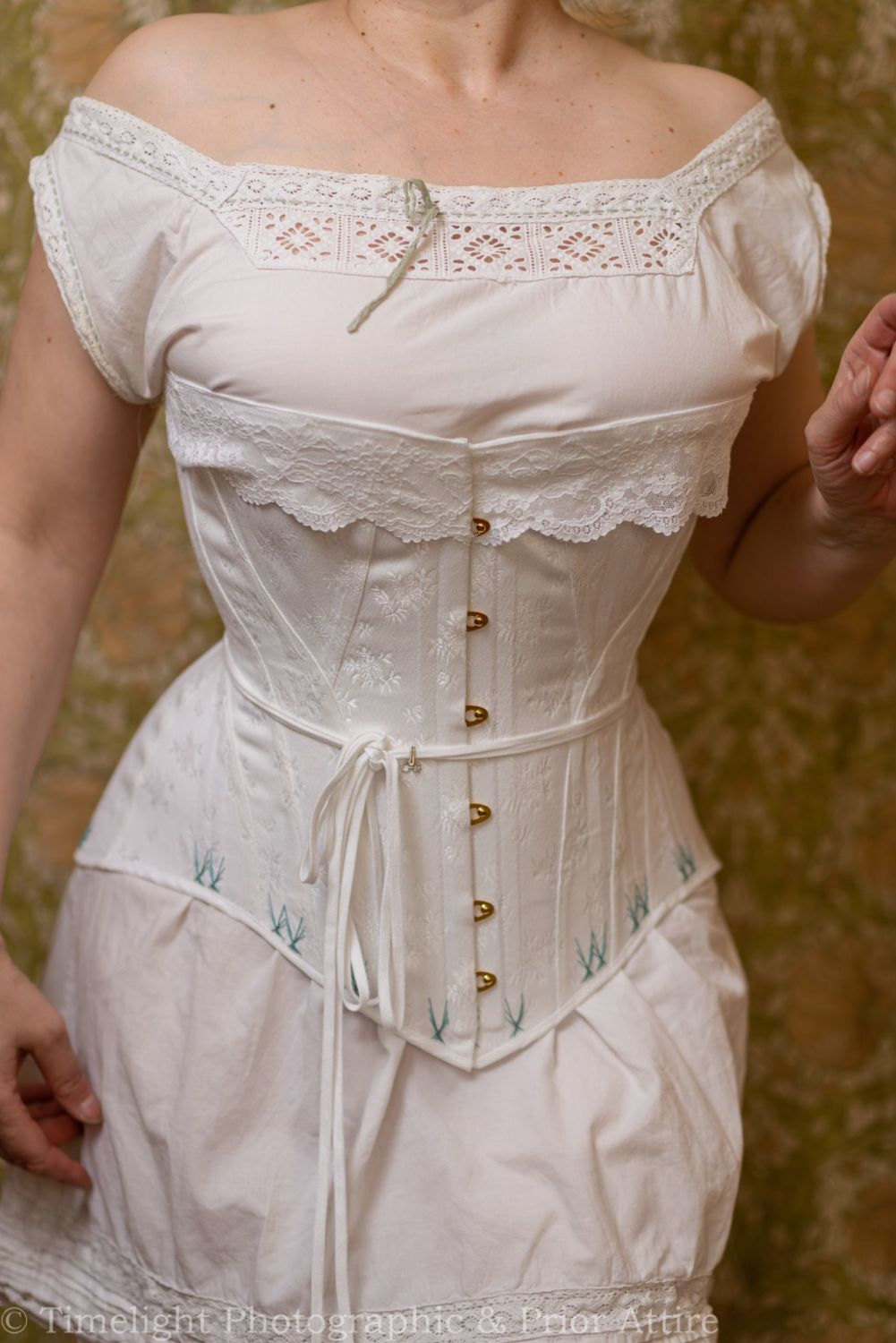Late Victorian, early Edwardian corset  26