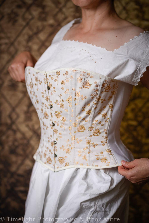 Modern/Victorian sport/ riding corset  33