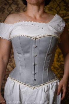 "Victorian  sport/riding corset  29"""