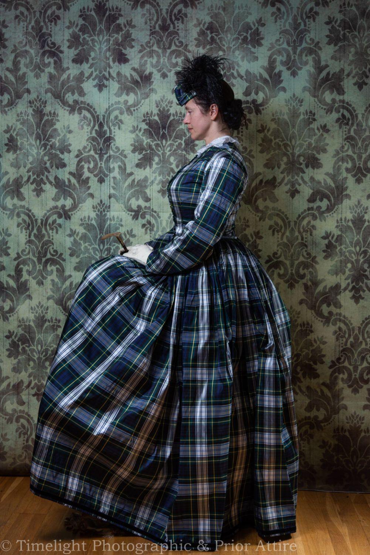 Victorian crinoline dress size 12