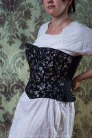 Modern/Victorian sport/ riding corset  32-34