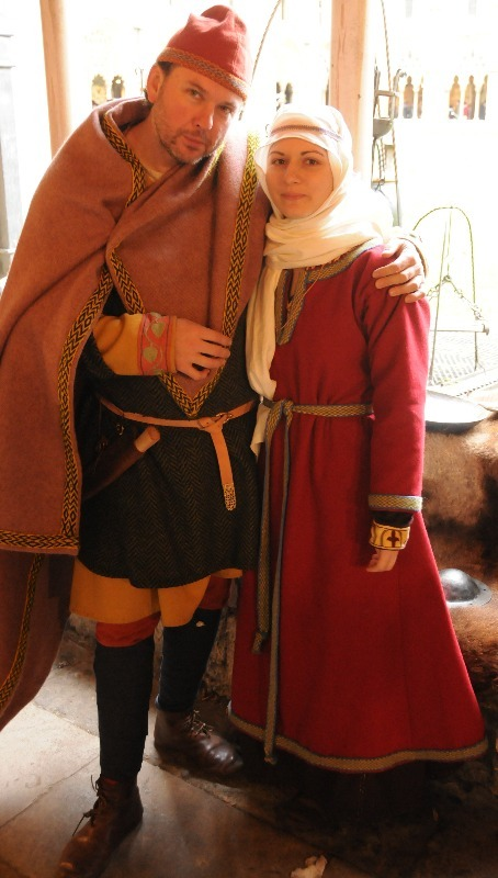 Anglo Saxon couple
