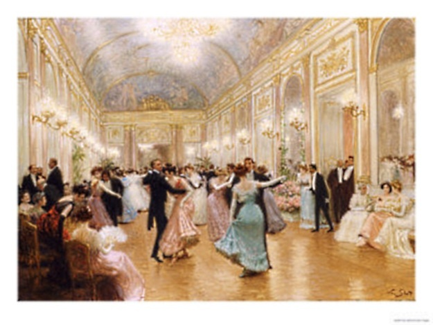 the ball by victor gabriel gilbert. gorgeous