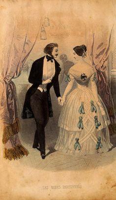 fashions for men and women jan 1846 france les modes parisiennes
