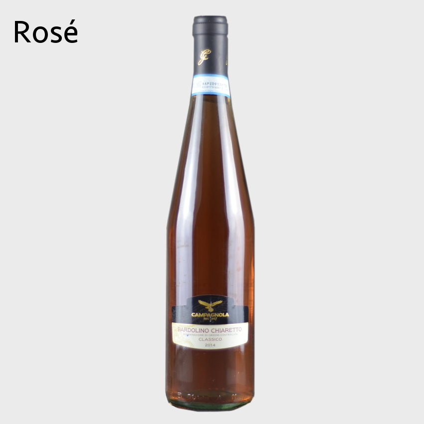 Look at our selection of rose wine.