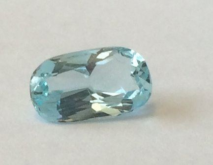 Aquamarine  Oval  1.68cts 10mm x 6mm