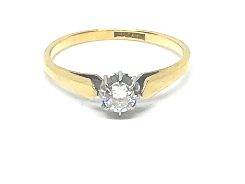 Diamond Ring in 18ct Gold