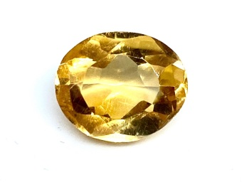 Citrine Oval Mixed Cut 4.53ct 11.5mm x 9.5mm Cit002