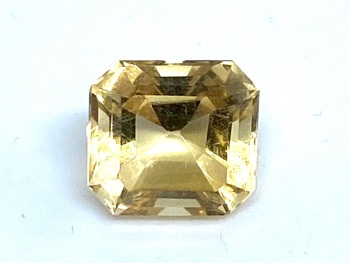 Citrine 2.41cts 8mm Square Trap Cut  Cit004