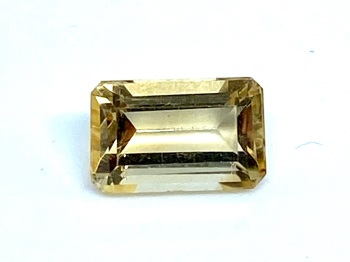 Citrine Emerald Cut 2.19cts   9mm x 6mm Cit006