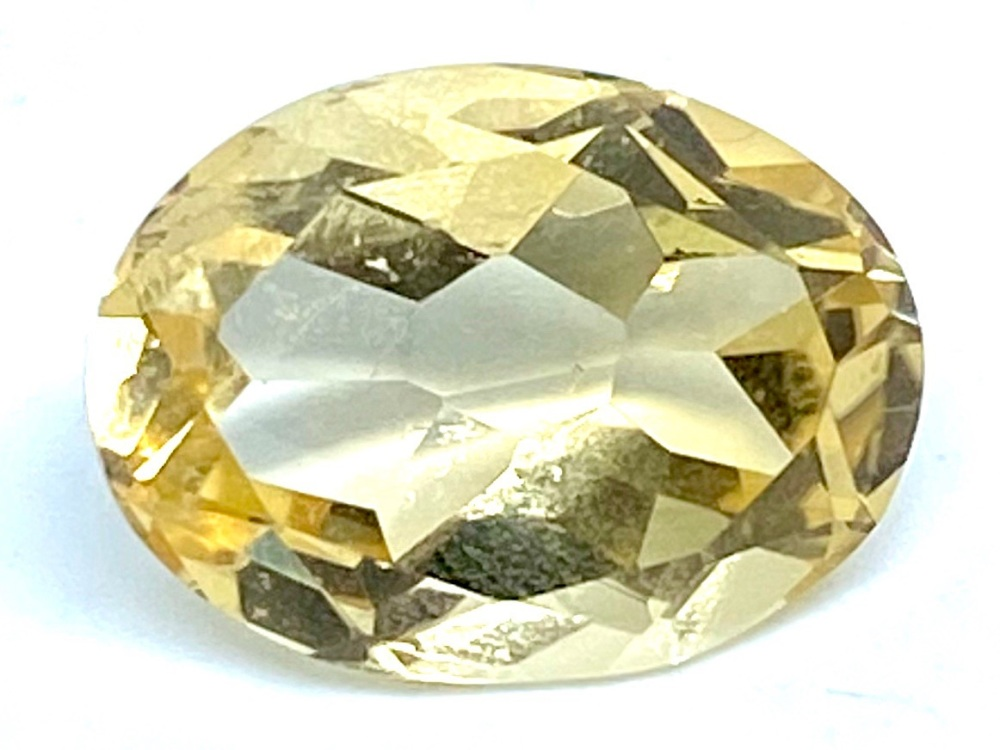 Oval Citrine 9.12cts  16mm x 12mm Cit008