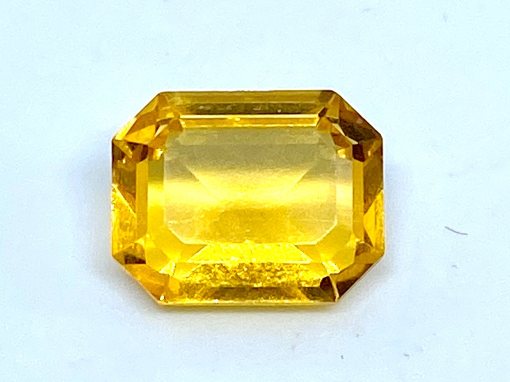 Citrine Emerald Cut 2.59cts   9mm x 7mm Cit009