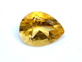 Citrine Drop 1.57cts 9mm x 6mm Cit0010