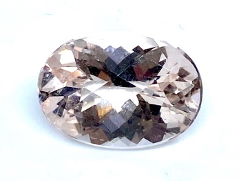 Morganite Oval 5.23ct   14mm x 10mm Ber001