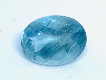 Aquamarine  Oval  4.76cts 13mm x 9.6mm   Aqu001