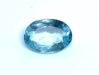 Aquamarine  Trap 1.95cts 10.5mm x 7.5mm   Aqu004