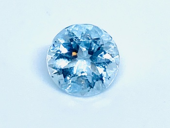 Aquamarine Round 1.42cts   7.6mm Aqu007