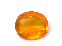 Fire Opal Oval  1.07cts  8.4mmx 7.3mm    Opa002