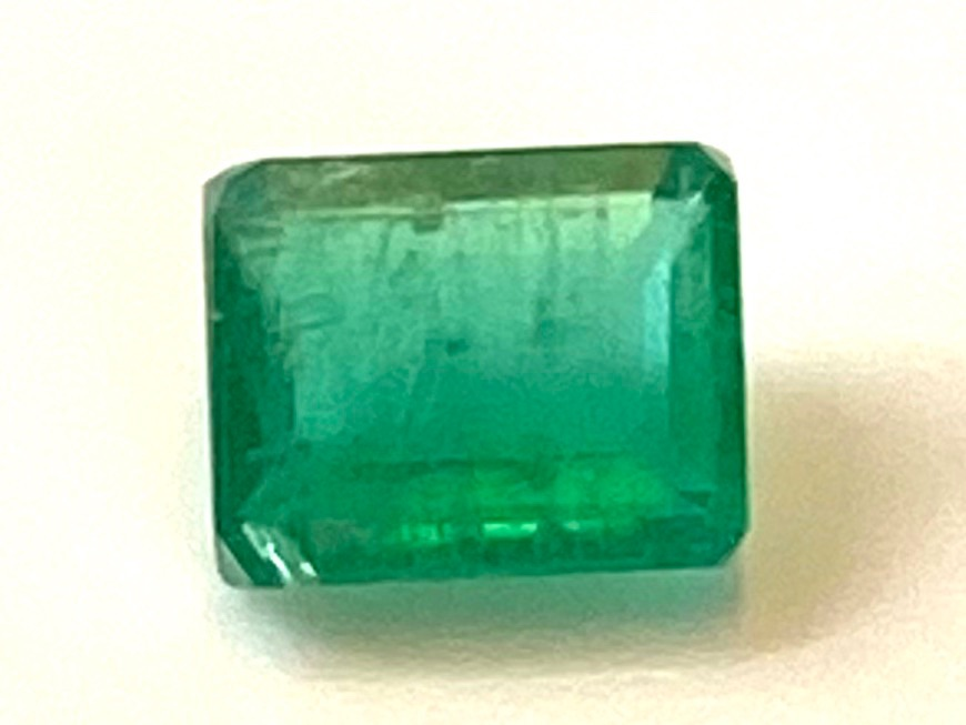 Emerald  Octagon 5mm x 4mm   0.48cts    Eme019