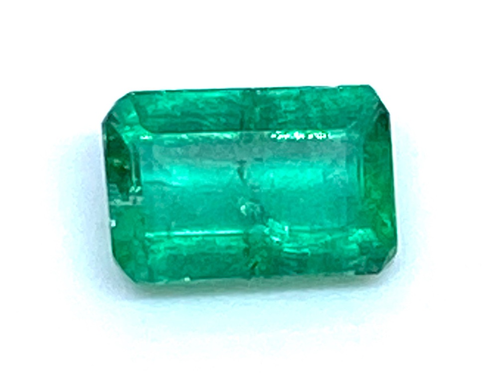Emerald  Octagon 6mm x 4mm   0.54cts    Eme026
