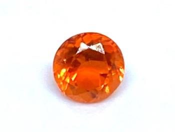 Fire Opal Round  0.23cts  4.3mm    Opa015