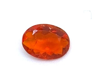 Fire Opal Oval   0.19cts  5.5mm x 4mm   Opa039