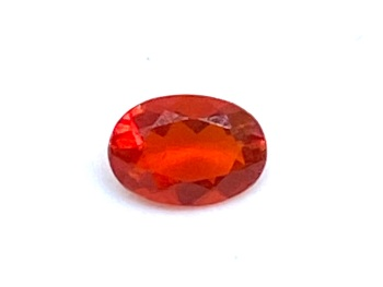 Fire Opal Oval   0.22cts  5.5mm x 4mm   Opa040