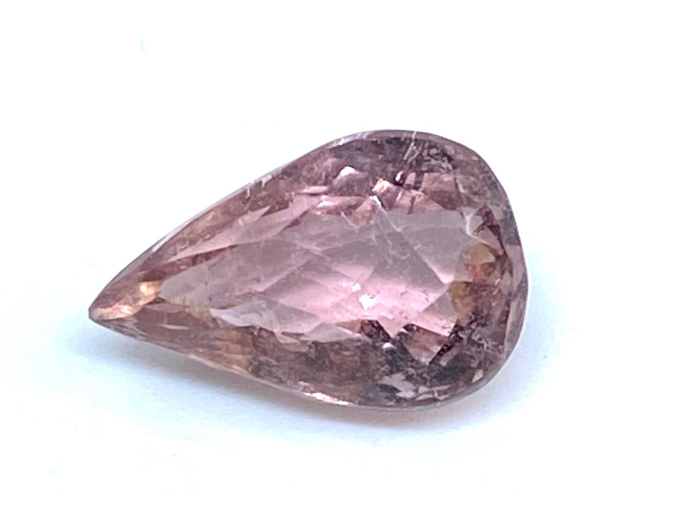 Tourmaline Pink Drop  3.34cts  11.9mm x 7.7mm  T017