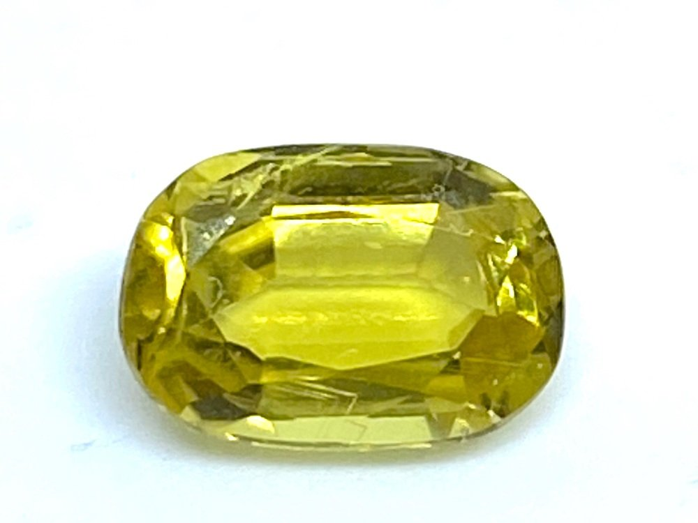 Tourmaline Yellow 1.47cts  8.5mm x 5.5mm  Tou022