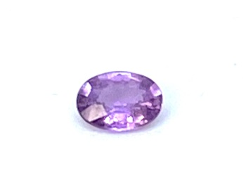 Sapphire Purple Oval  0.62ct  6.1mm x 4.5mm Sap019