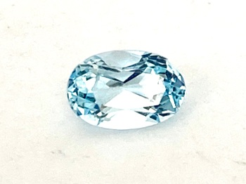 Aquamarine  Oval  0.59cts   6mm x 4mm   Aqu013